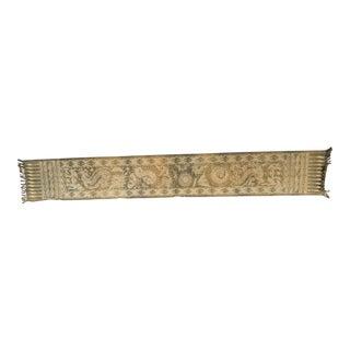 Brown Batik Table Runner For Sale