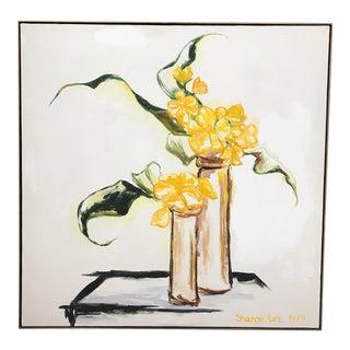 Pop Art Flower Canvas