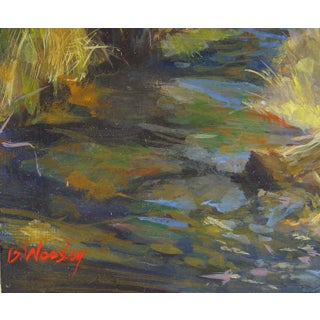 Plein Air Forest Stream Painting Preview