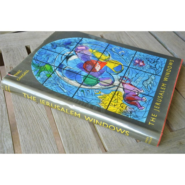 "Marc Chagall The Jerusalem Windows By Jean Leymarie, Marc Chagall - Hardback First Edition ""Marc Chagall's magnificent..."