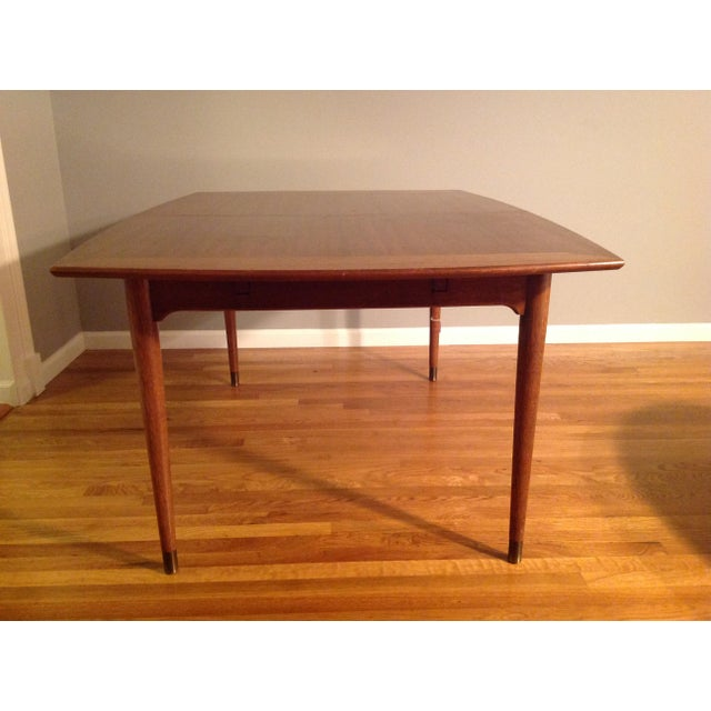 Danish Modern John Keal for Brown Saltman Dining Table For Sale - Image 3 of 7