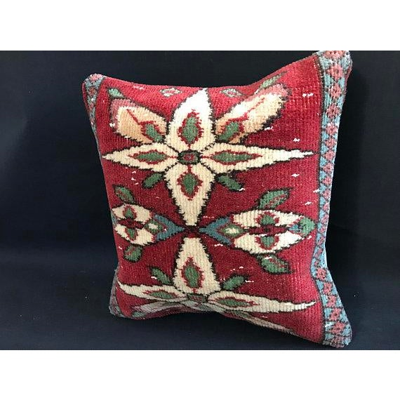 Made from a repurposed organic wool rugs. The rugs we use for our pillows are well washed and ready for your use. Handmade...