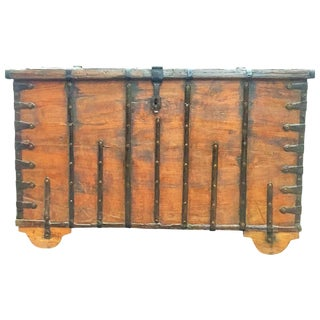 17th-Century Oak Coffer