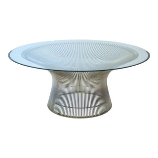 Mid-Century Modern Warren Platner Coffee Table by Knoll For Sale
