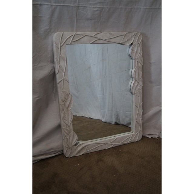 Mid-Century Art Nouveau Style Painted Mirror For Sale In Philadelphia - Image 6 of 10