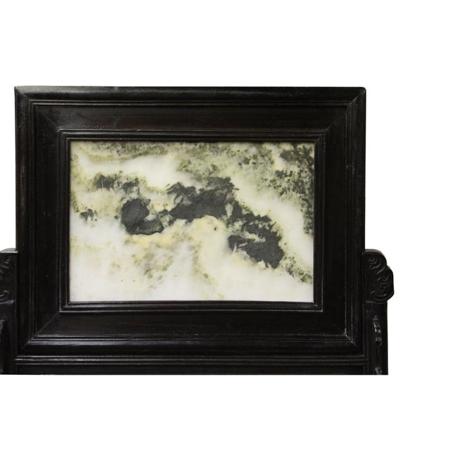 Chinese Dream Stone Fengshui Rectangular Table Top Display Art For Sale - Image 9 of 10