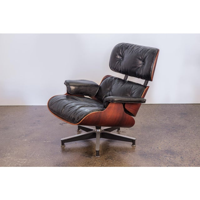 Second Generation 1960s Eames 670 Lounge Chair for Herman Miller For Sale - Image 10 of 11