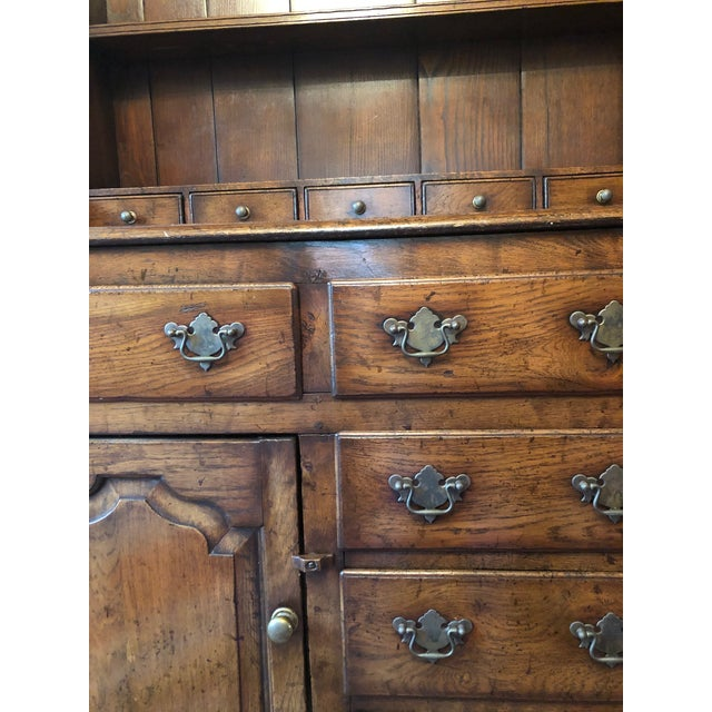 1860s Traditional Welsh China Cabinet For Sale In New York - Image 6 of 13