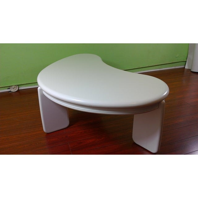Kidney Shaped Coffee Table - Image 10 of 11