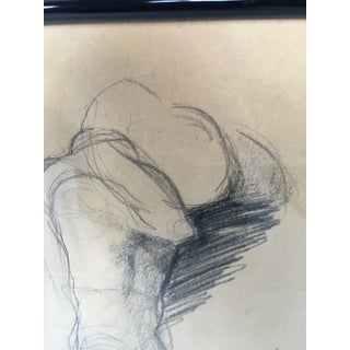 Charcoal Male Nude Study Preview