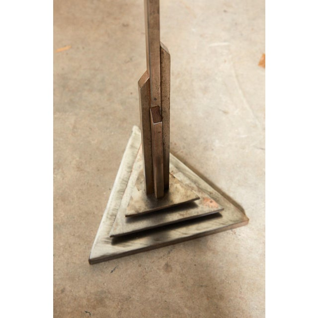 Gray Art Deco Valet of Steel For Sale - Image 8 of 10