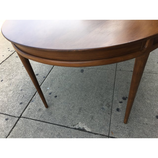 Drexel Mid Century Dining Table - Image 4 of 6