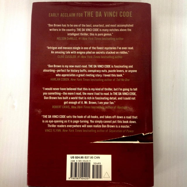 "First Edition ""The Da Vinci Code"" Book - Image 3 of 4"