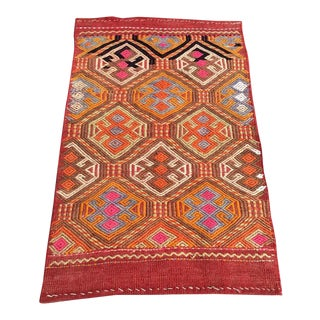 "Turkish Kilim Rug - 1'11"" X 2'11"" For Sale"