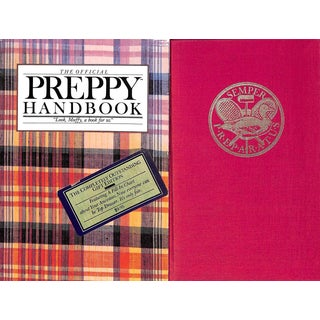 The Official Preppy Handbook - The Completely Outstanding Gift Edition For Sale