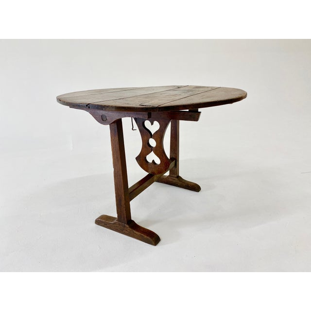 18th C. French Vendage Table For Sale - Image 11 of 11