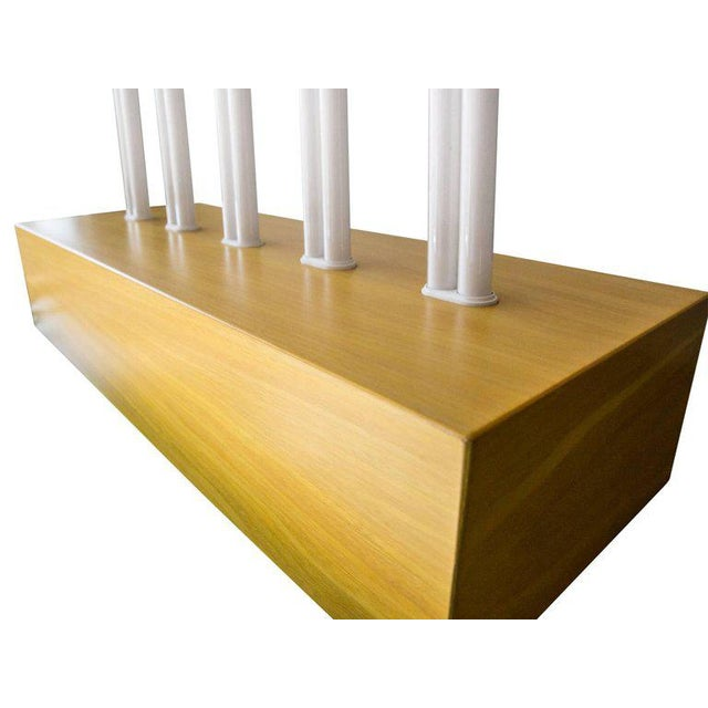 """Early 21st Century Ettore Sottsass """"Pattica"""" Yellow Maple Table Lamp For Sale - Image 5 of 11"""