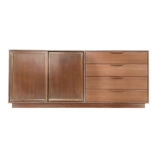 Harvey Probber Bleached Mahogany Credenza For Sale