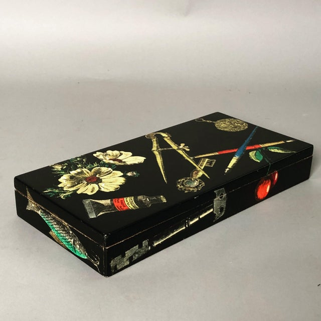 Fornasetti Decorative Wooden Box For Sale - Image 10 of 10