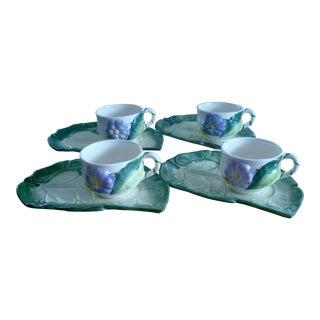 Barrarte Ceramic Snack, Portugal - Set of 4 For Sale