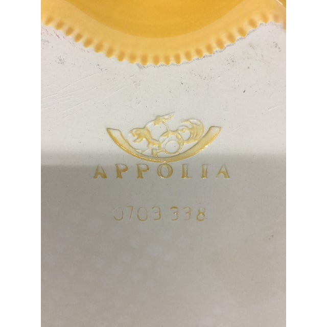 Gold French Ovenproof Appolia Gold Clay Serving Dish For Sale - Image 8 of 13