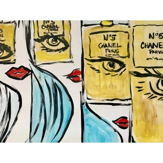 Fashion Pop Art Painting by Tony For Sale