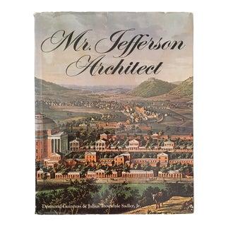 "1973 ""Mr. Jefferson Architect"" First Edition Art/Architecture Book For Sale"