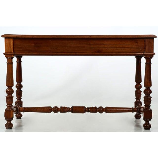 English Mahogany Writing Desk - Image 4 of 11