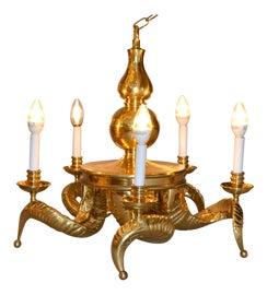 Image of Bronze Chandeliers