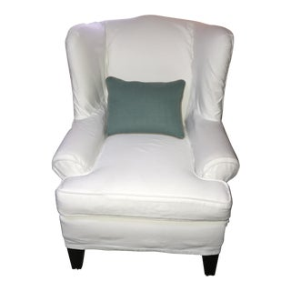 Restoration Hardware Style Wingback Chair