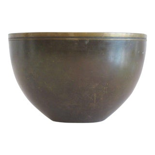 1940s Modern Just Andersen Bronze Bowl For Sale