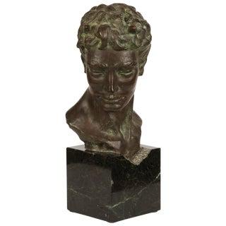 Bronze Bust of Pan