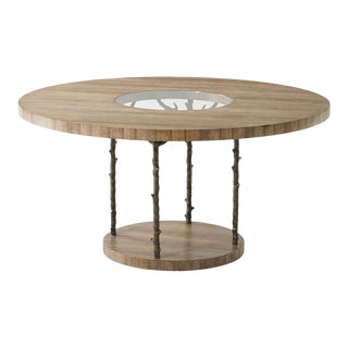 Modern Round Dining Table For Sale