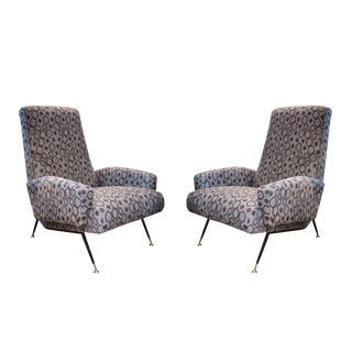 A Pair of Armchairs, Italy 60'