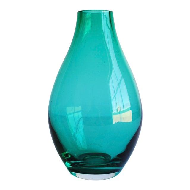 Teal Green Vase - Image 1 of 3