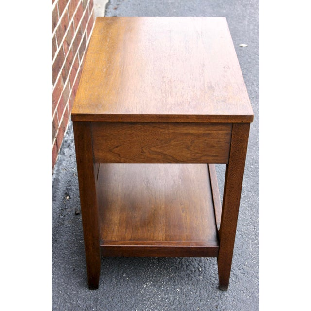 Gold Broyhill Brasilia Nightstand or Side Table For Sale - Image 8 of 11