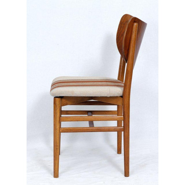 Contemporary Set of 4 Eva & Niels Koppell Dining Chairs For Sale - Image 3 of 7