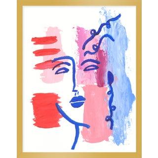 "Medium ""Joy"" Print by Virginia Chamlee, 19"" X 24"" For Sale"