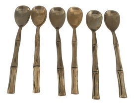 Image of Brass Flatware and Silverware