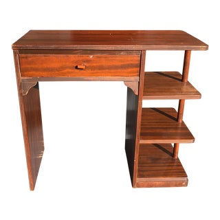 Art Deco Desk With Bakelite Detail