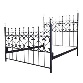 Hand Forged Wrought California King Iron Bed