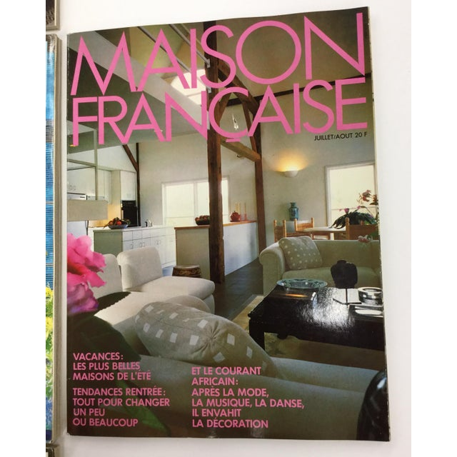 French Interior Decorating Magazines - Set of 5 For Sale - Image 4 of 13