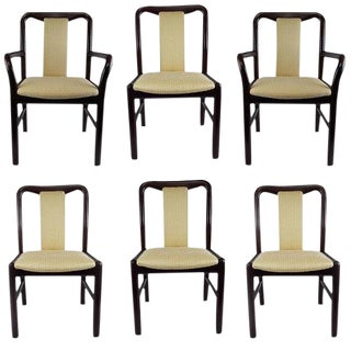 1960s Vintage Niels Moller for Boltinge Danish Modern Rosewood Dining Chairs - Set of 6 For Sale