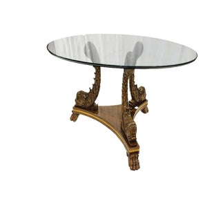 20th Century Karges Dolphin Dining Table For Sale