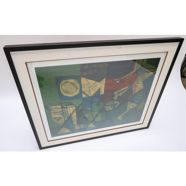 Mid-Century Modern Roberto Burle Marx Abstract Print For Sale - Image 3 of 6