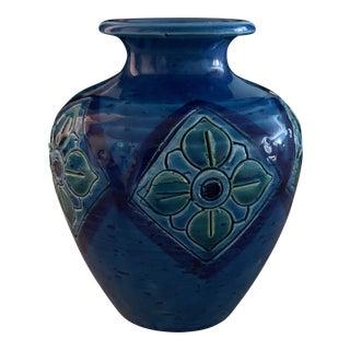 Italian Mid Century Flavia Pottery Vessel For Sale