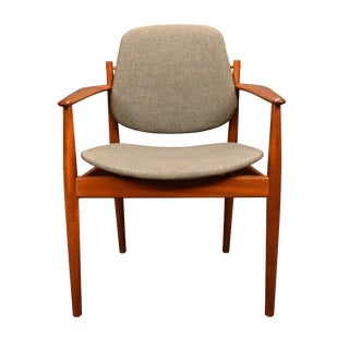 1960s Danish Modern Arne Vodder Teak Chair For Sale
