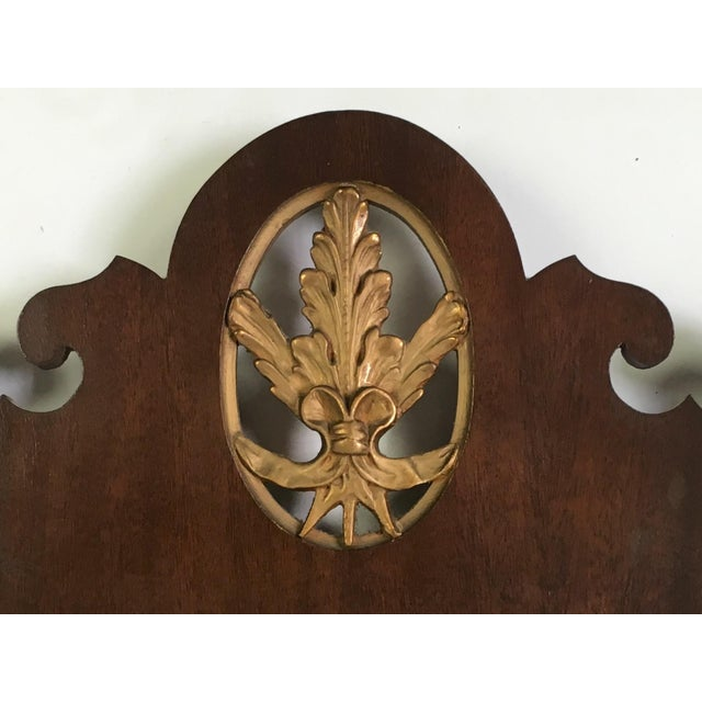 Mahogany Chippendale Mirror With Gilt Detail - Image 3 of 6