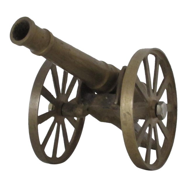 Brass Cannon - Image 1 of 5