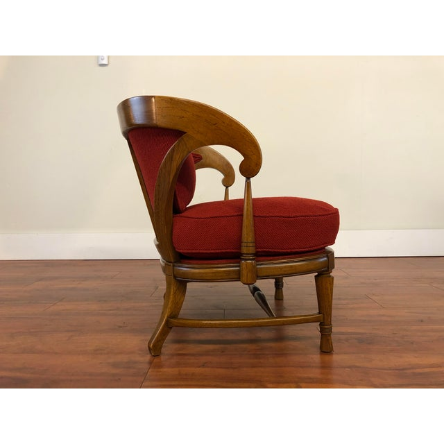 Tomlinson Sophisticate Vintage Occasional Chair For Sale In Seattle - Image 6 of 13